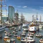 Tráfico en el Puerto de Amsterdam