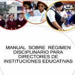 Manual del Régimen Discplinario para Directores