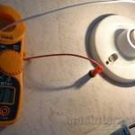 Consumo de una bombilla de 25 Watt