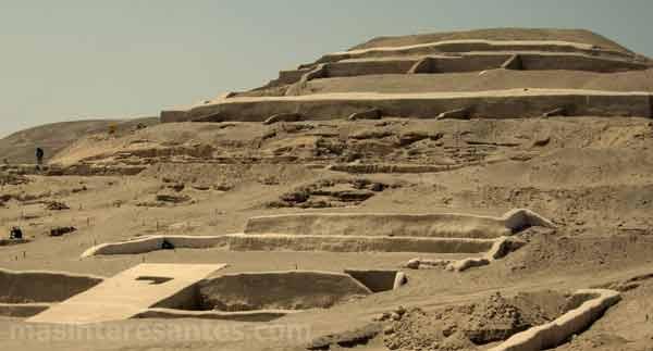 Ciudad pre inca Cahuachi, es el corazón verdadero de la cultura Nasca