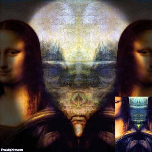 Aliens en la Mona Lisa