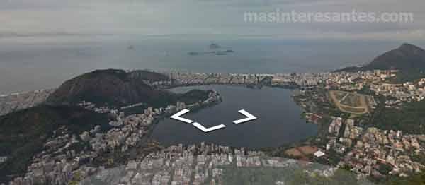 Vista panorámica de Río de Janerio