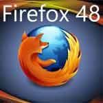 Mozilla Firefox 48 novedades