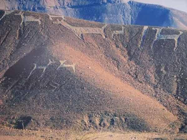 Geoglifos de Chen Chen en Moquegua