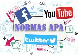 Normas APA para redes sociales y material electrónico