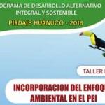Incorporación del Enfoque Ambiental en el PEI