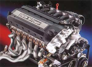 Ensamblaje de un motor BMW-M3 de 6 cilindros en línea