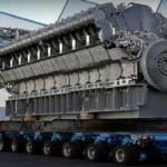 Fabricación y ensamblaje del motor diesel más grande del mundo