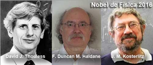 Premio Nobel de Física 2016