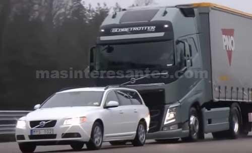 Moderno sistema de frenos de camiones y tailers Volvo