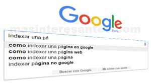 Indexar una web en buscadores de google