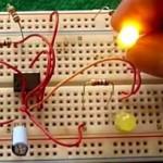 Led intermitente fácil con 555 y potenciómetro