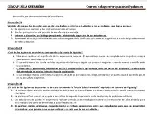 Temario resuelto de concurso de directivos y especialistas de Ugel