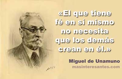 Fé en sí mismo - Miguel de Unamuno