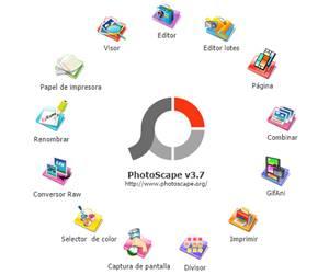 PhotoScape Editor de imágenes
