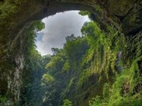 La cueva que une con el centro de la Tierra