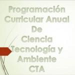 Programación Curricular Anual de CTA 2017