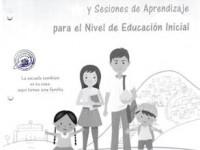 Unidad de Aprendizaje y Sesiones de Aprendizaje por Situaciones de Emergencia Nivel Inicial