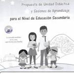 Unidad de Aprendizaje y Sesiones de Aprendizaje por Situaciones de Emergencia Nivel Secundaria
