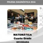 Prueba Diagnóstica 2016 Cuarto de Secundaria