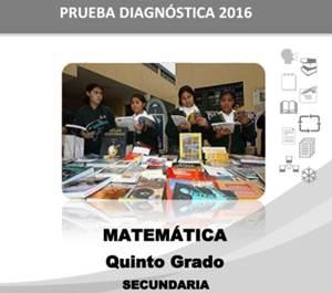 Prueba Diagnóstica 2016 Quinto de Secundaria