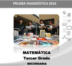 Prueba Diagnóstica 2016 Tercero de Secundaria
