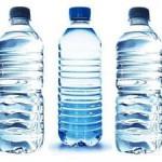 Botellas de agua peligro llenar varias veces Tres botellas de agua