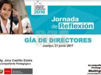 Jornadas de Reflexión Guía para Directores