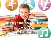Inteligencias Múltiples y sus principlaes actividades