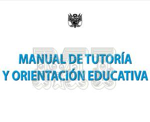 Manual para ser un mejor tutor