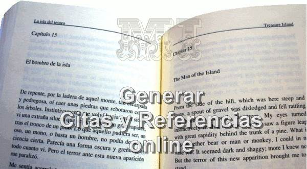 Generar citas y referencias bibliográficas online