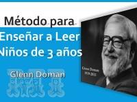 Método para enseñar a leer niños Glenn Doman