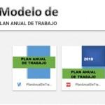 Modelo Plan Anual de Trabajo