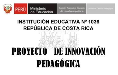 Modelo de Innovación Pedagógica