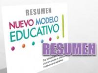 Resumen del Nuevo Modelo Educativo