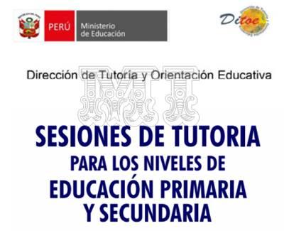 Sesiones de Tutoría para primaria y secundaria