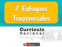 7 enfoques transversales del Currículo Nacional