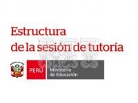 Estructura de una sesión de tutoría