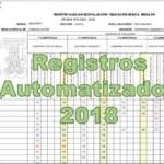 Registros Auxiliares Automatizados 2018