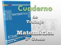 Texto cuaderno de trabajo de Matemática Quinto Grado