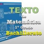 Texto de Matemática 1er Grado Bachillerato