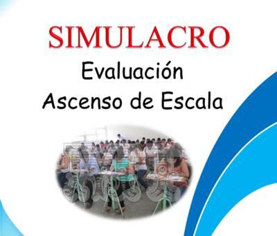 Evaluación de Ascenso de Escala