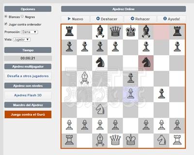 Juegos de ajedrez en línea