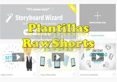 Crear video desde plantilla con RawShorts