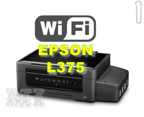Configurar impresora epson L375 wifi