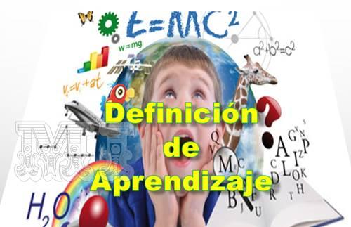 Definición de aprendizaje