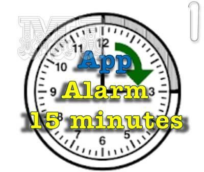 Descargar Alarm 15 minutes APK