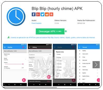 Descargar Blip Blip hourly chime APK