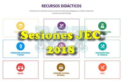Sesiones JEC minedu 2018