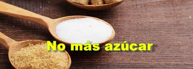 Elimine el azúcar de su dieta